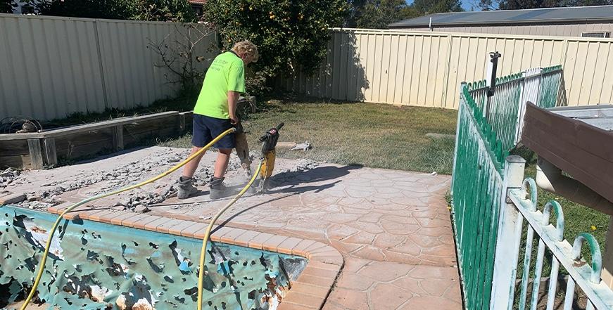 Concrete Pool Removals Sydney