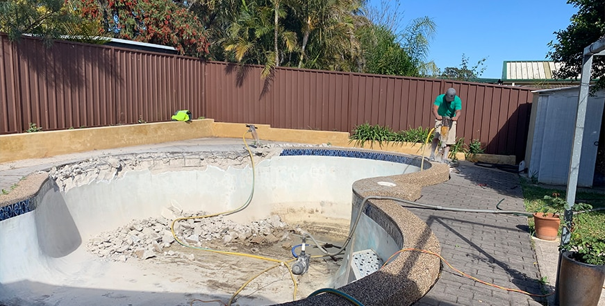 Commercial Pool Removals