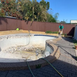 Concrete Pool Grinding