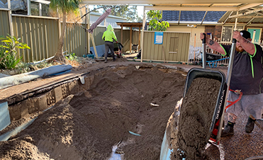 Concrete Pool Removing Jam Pool Removals Teams