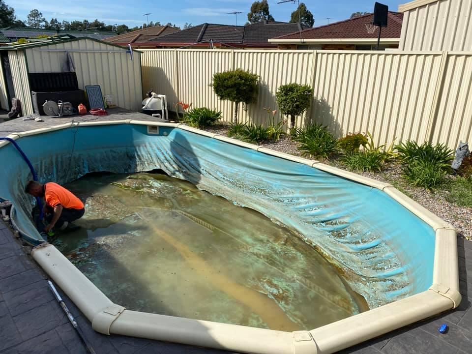 Sydney Fiberglass pool removal