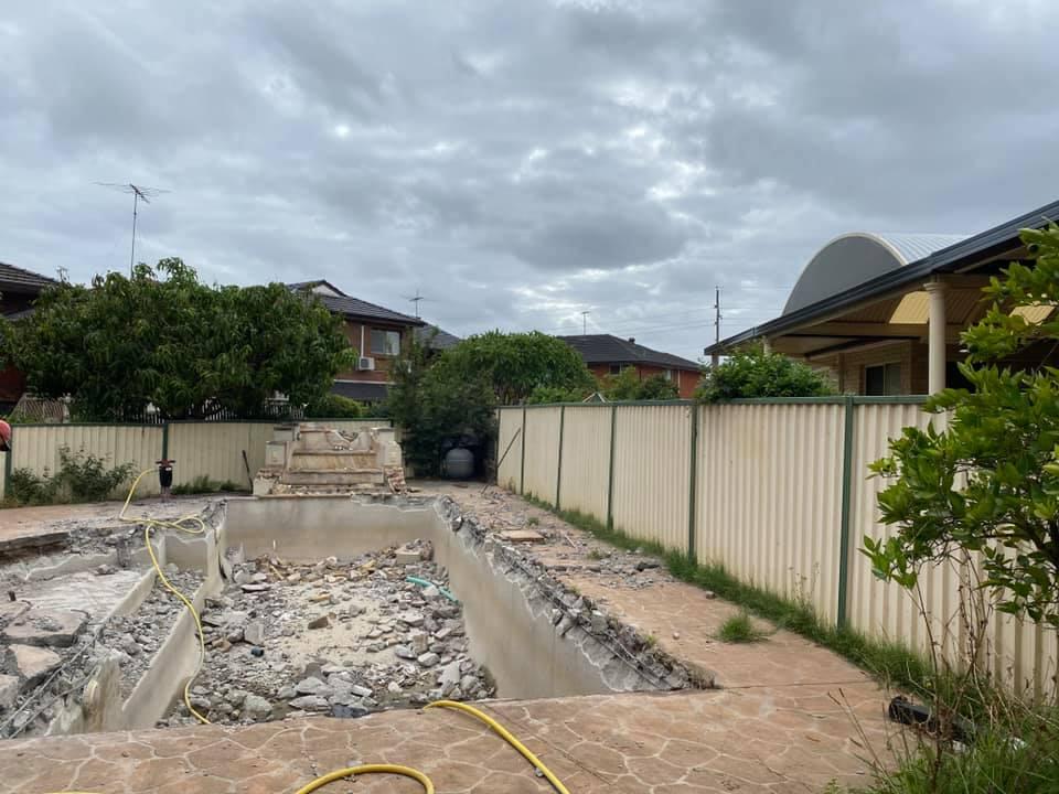 Sydney Inground Swimming Pool Removal