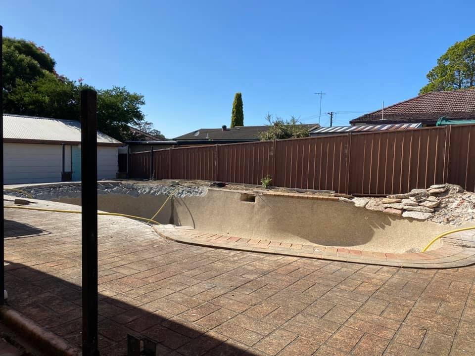 Concrete Pool Removal