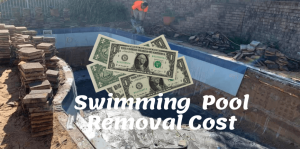 Pool Removal Cost Sydney